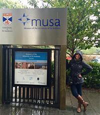 international relations major at uc davis visits scotland