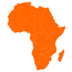 Outline map of Africa