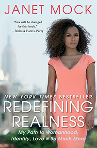 The cover of 'Redefining Realness' by Janet Mock.