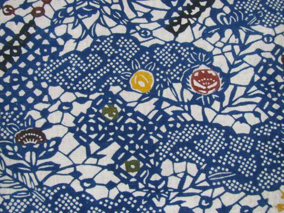 Detail of Japanese textile