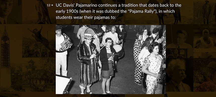 Question about the purpose of Pajamarino