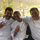 Joe Sasto and Top Chef contestants