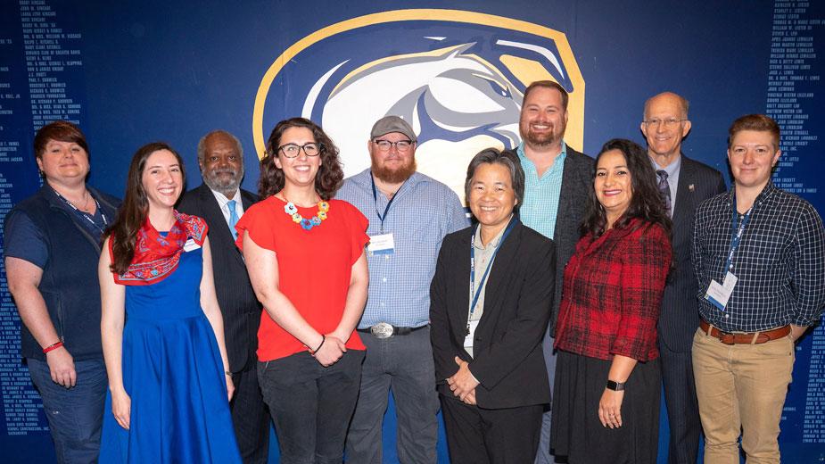 Award winners, administrators and staff diversity leaders