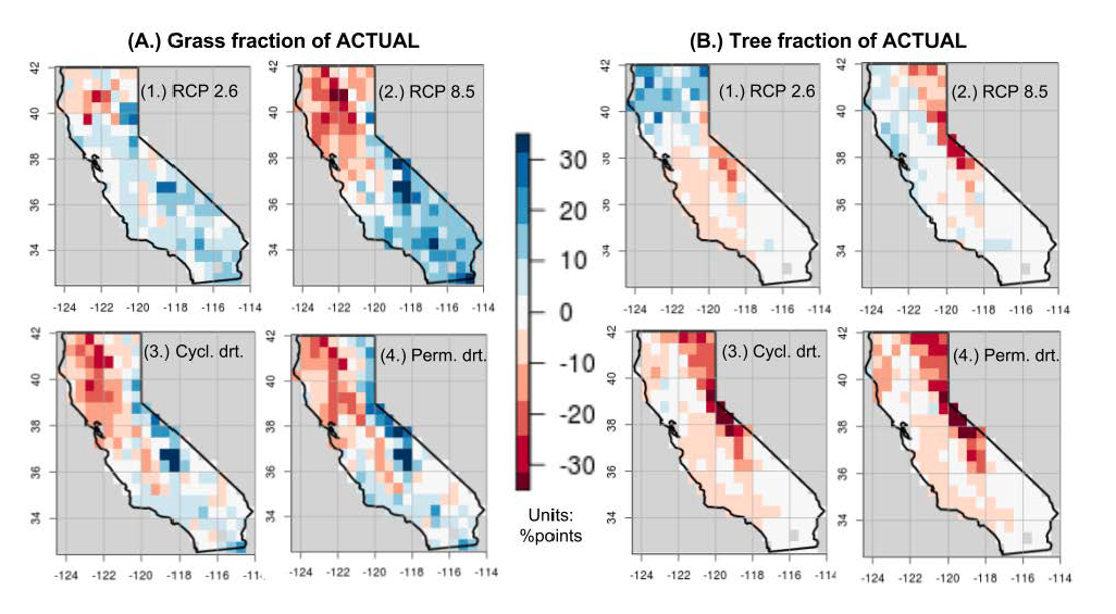 California climate map