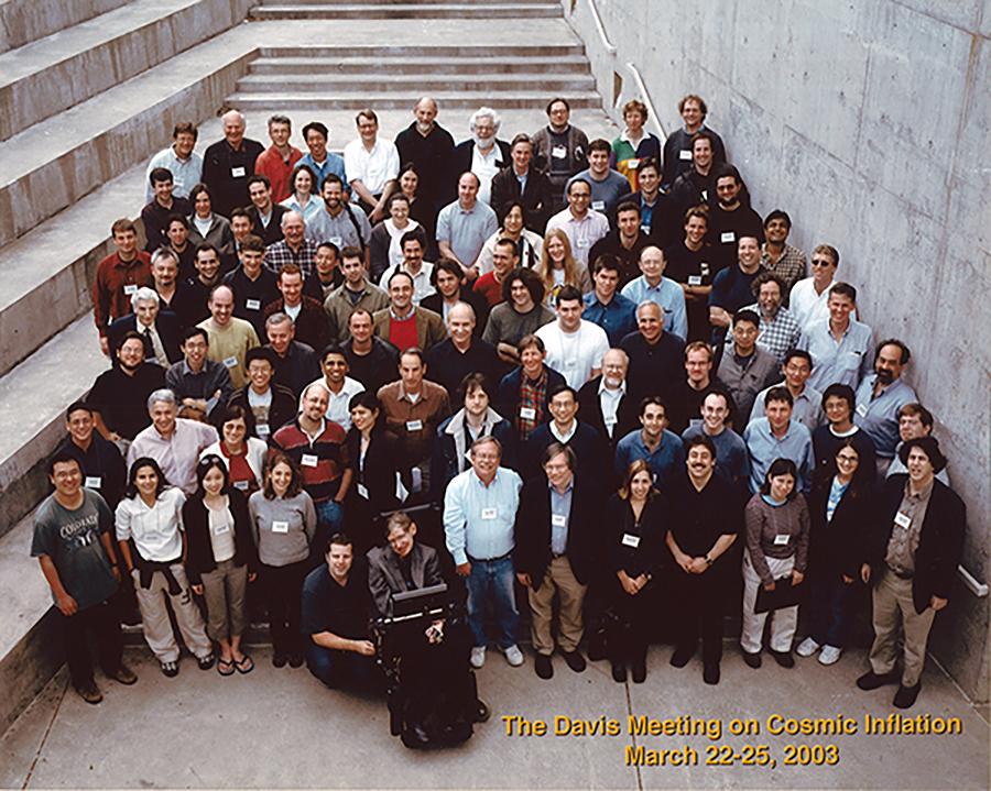 Stephen Hawking at UC Davis