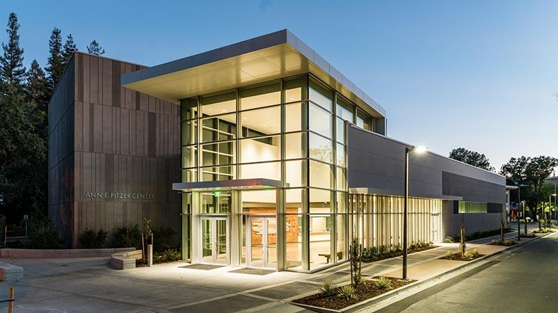 Ann E. Pitzer Center Entrance