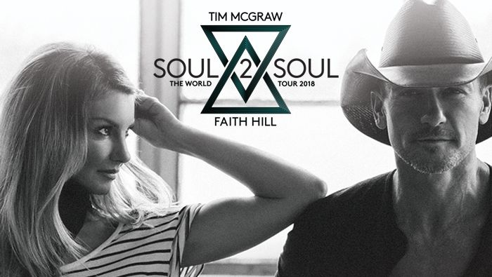 A promotional photo of Tim McGraw and Faith Hill.