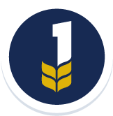 UC Davis is Ranked 1st Nationally and 2nd world wide in Agriculture - Badge Image with #1 Rooted in Leaves